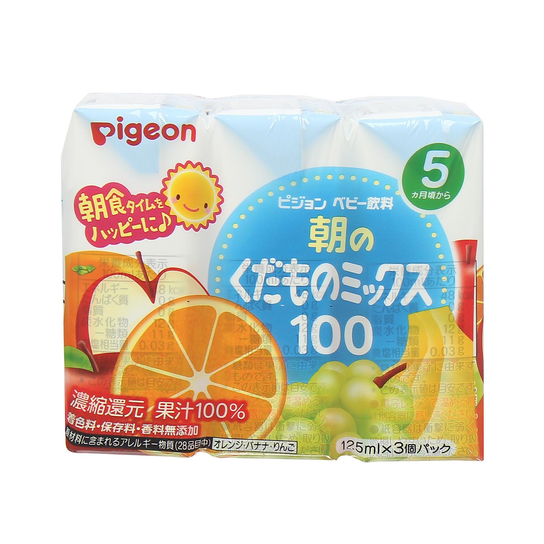 nước ép trái cây Pigeon 125ml nhật bản
