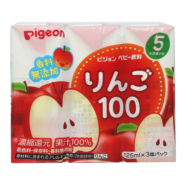Nước ép vị táo nguyên chất Pigeon