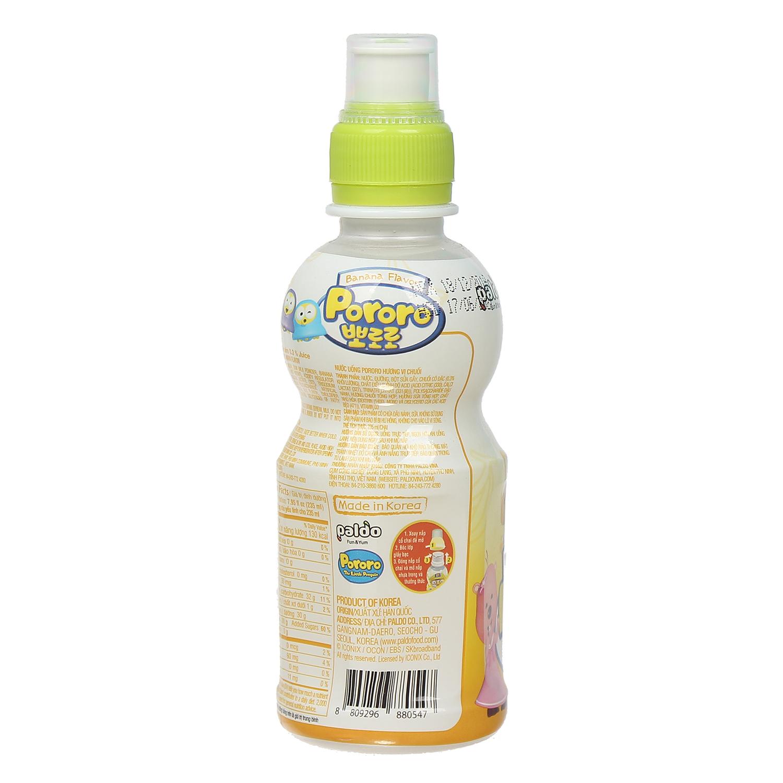 Nước uống Pororo hương vị chuối 235ml