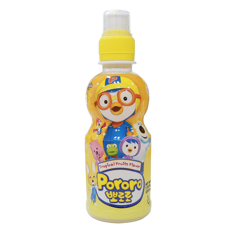 Nước uống Pororo hương vị trái cây nhiệt đới235ml