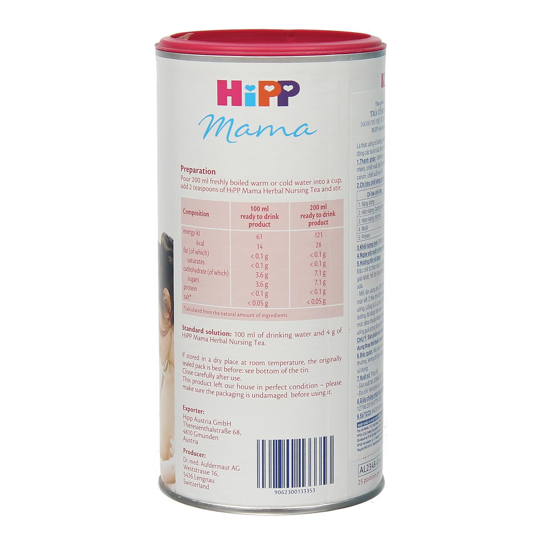 trà lợi sữa Hipp 2342 dành cho sản phụ
