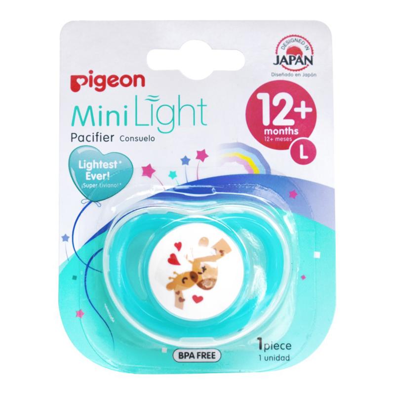 Ty ngậm đơn Pigeon Nhật size L cho bé mấy tuổi?