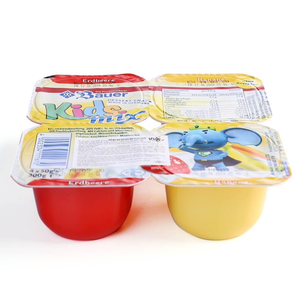 Sữa chua hoa quả Kidsmix 4x50g