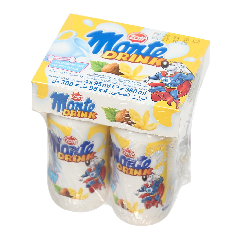Váng sữa Monte Drink 95ml cho bé trên 6 tháng tuổi