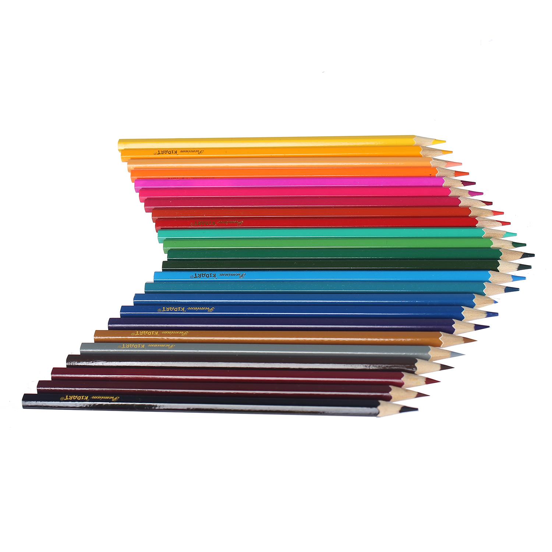 Bút chì màu cho bé 24 cây RS.CHI-CPL-24A-DI thiết kế đẹp mắt