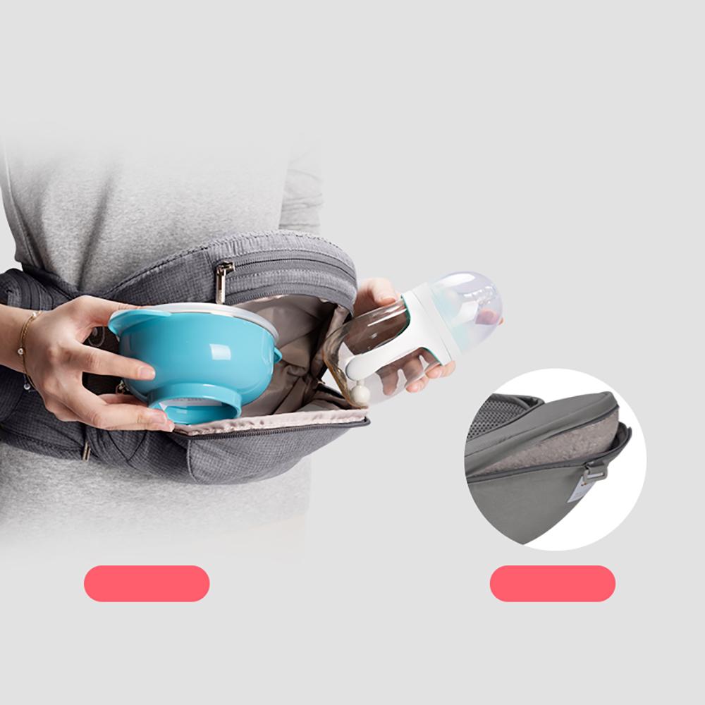 Địu ngồi cho bé Hip Seat Mamago Foldable Aluminum túi đựng đồ rộng rãi