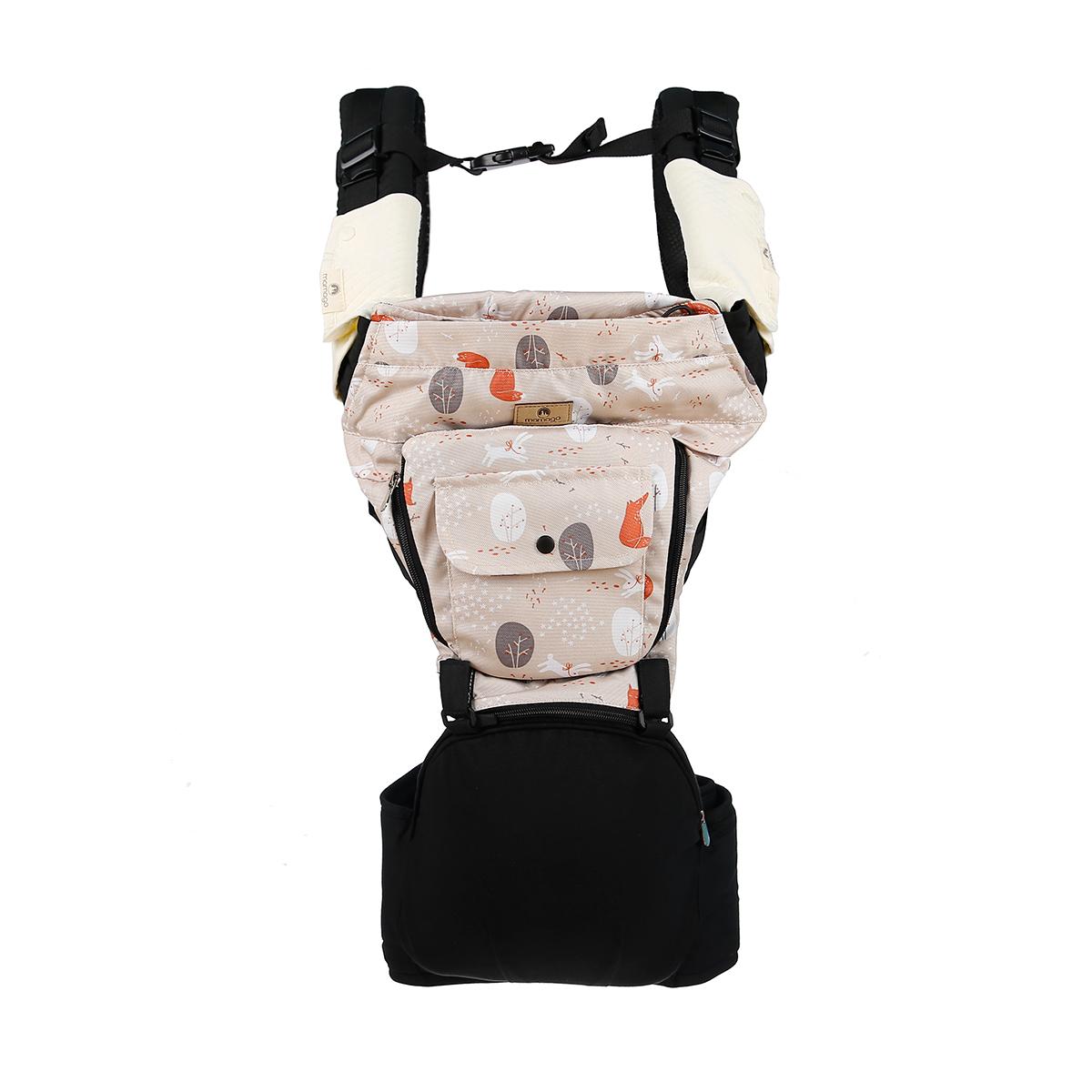 Địu ngồi cho bé Hip Seat Premium Mamago C04 (Hồng Kaki)
