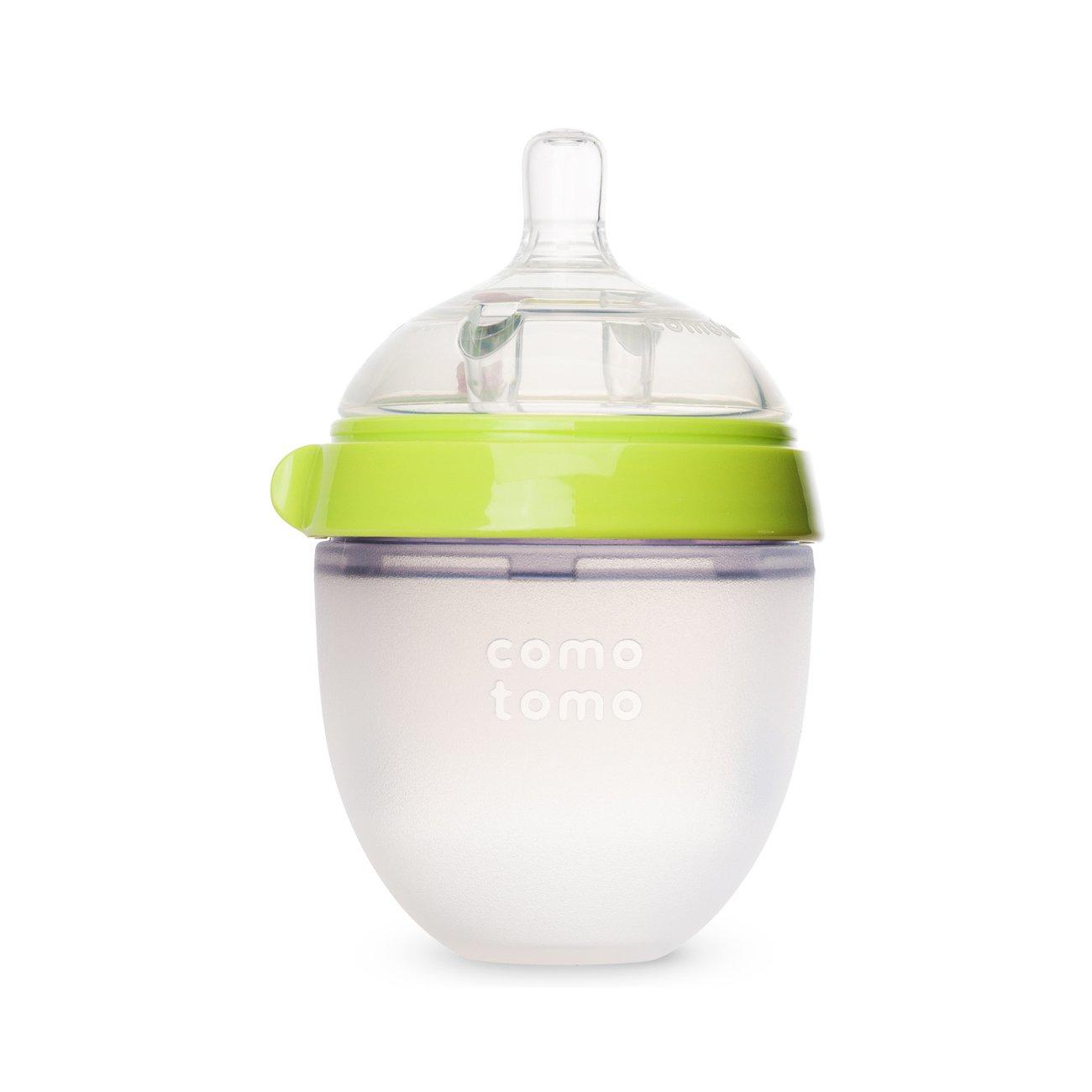 Bình sữa Comotomo 150ml siêu mềm (màu xanh)