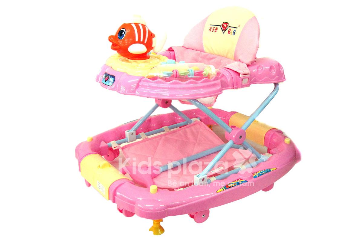 Xe tập đi hình cá Nemo XTD39 chắc chắn an toàn cho bé
