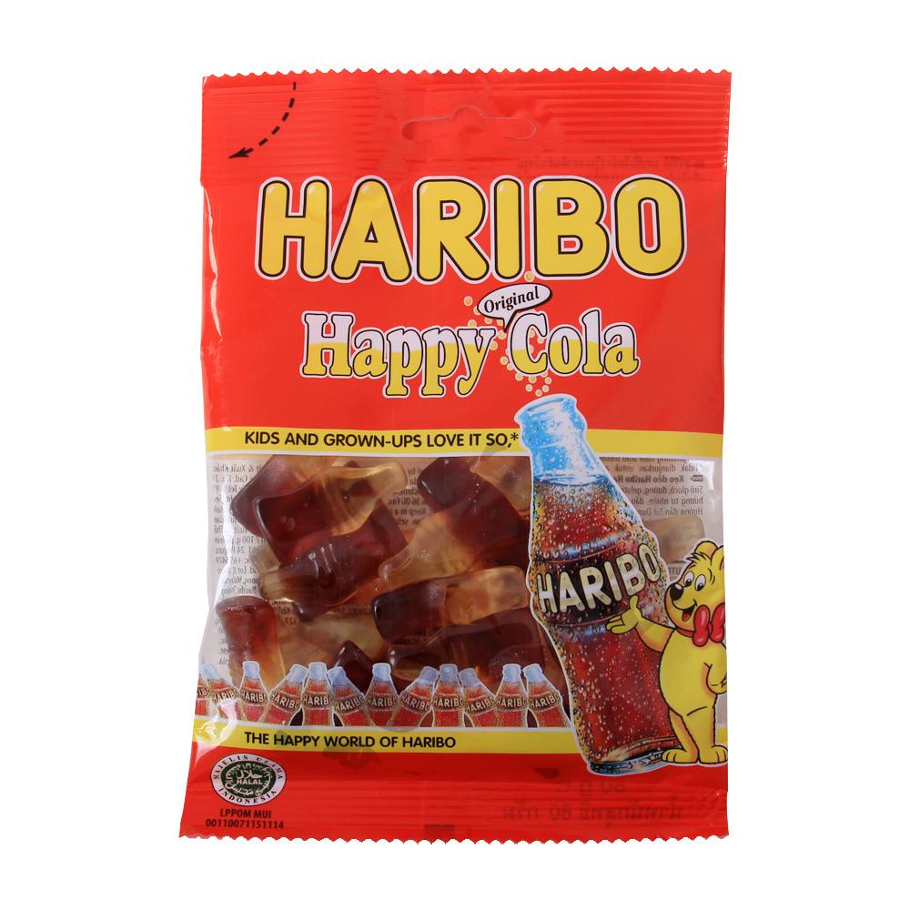 Kẹo dẻo Haribo Happy Cola gói 200g