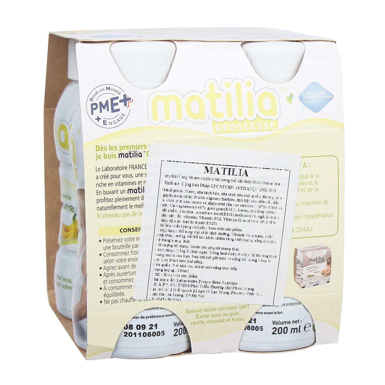 sữa matilia cho bà bầu