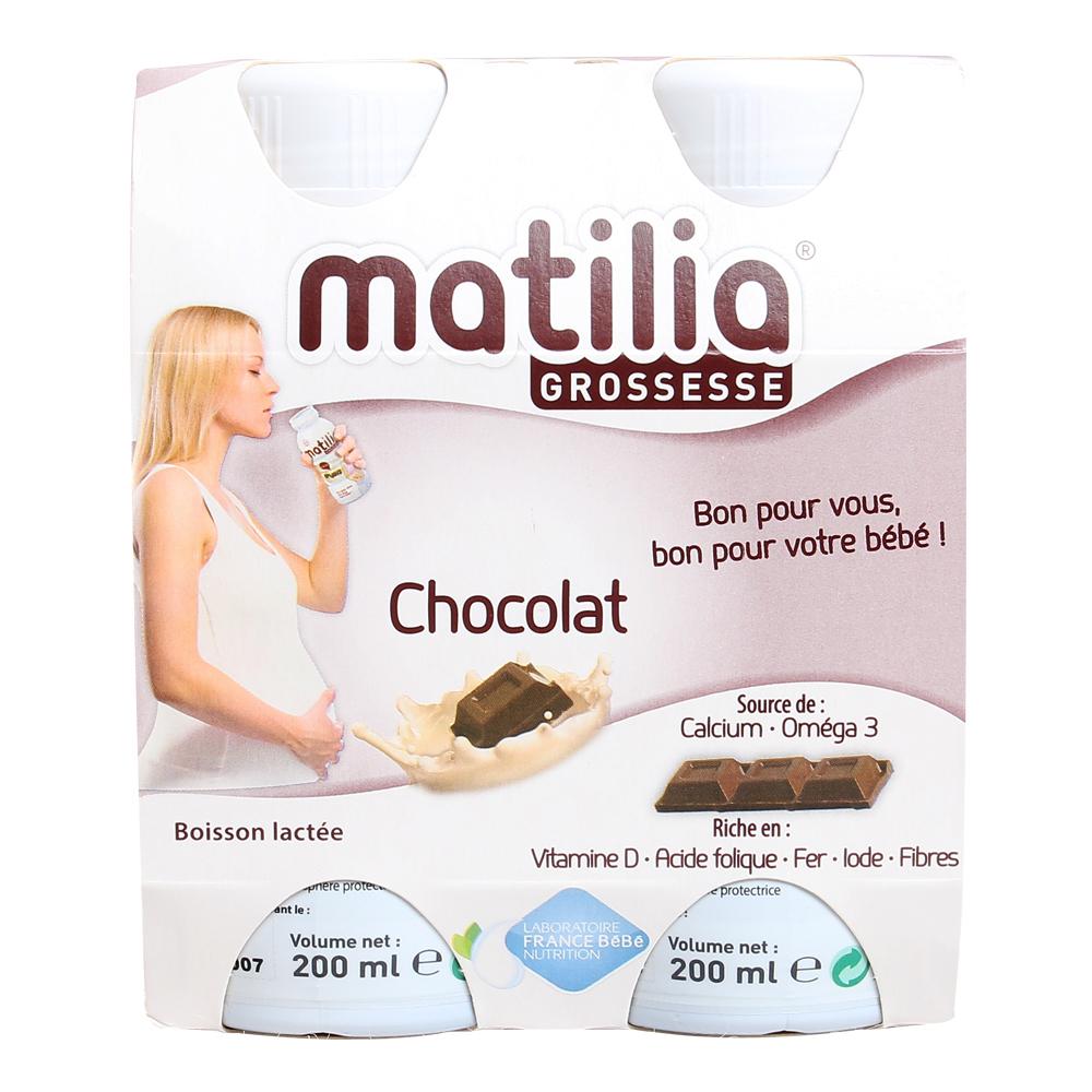 Sữa Bầu Matilia Vị Socola (Lốc 4 Hộp) thành phần an toàn, bổ dưỡng