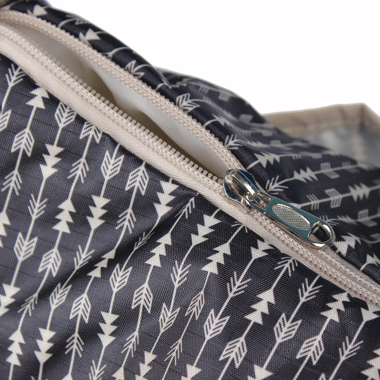 Túi đựng đồ cho mẹ và bé Mother-V 001 khóa kéo chắc chắn