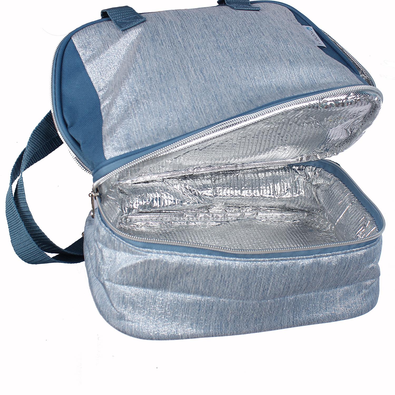 Túi giữ nhiệt Mother-V 005 2 ngăn đựng nhỏ gọn