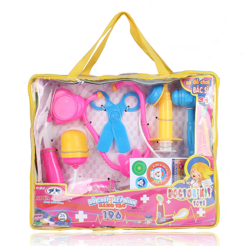 Đồ chơi cho bé gái túi đựng dụng cụ bác sĩ NCL.M1323LR