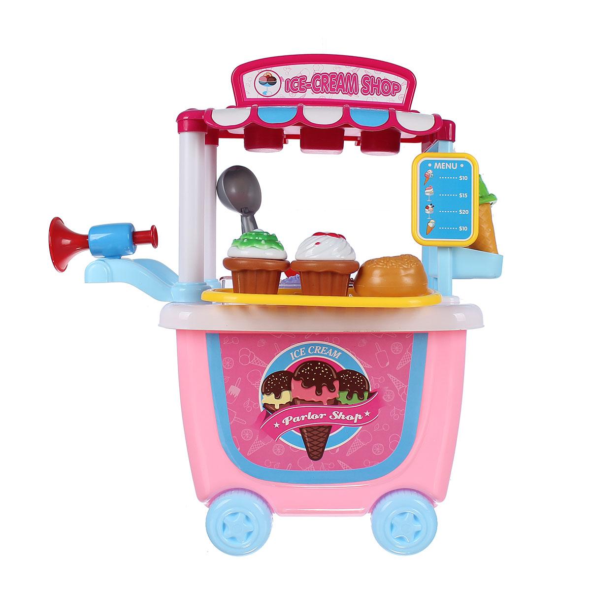 Đồ chơi xe đẩy bán kem Bowa IM.8342CB hình ngộ nghĩnh, đáng yêu