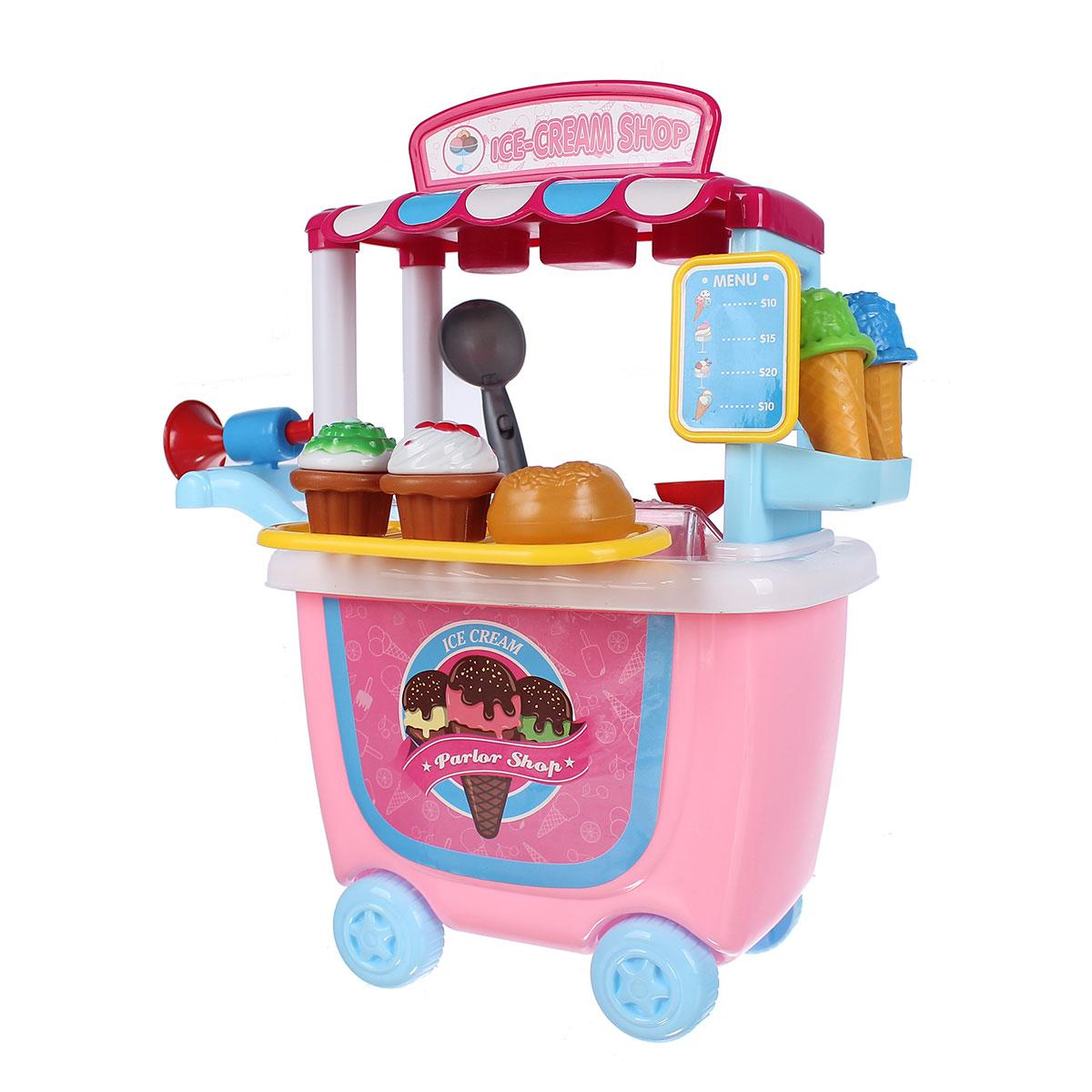 Đồ chơi xe đẩy bán kem Bowa IM.8342CB