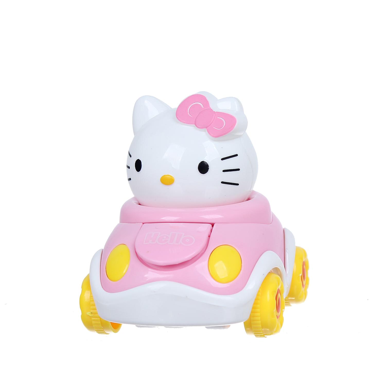 Xe chạy đà hình chú mèo Hello Kitty CY.338-9