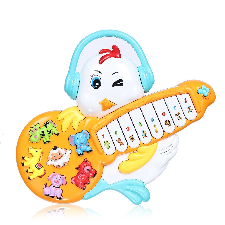 Đồ chơi đàn nhạc cho bé hình gà con CY.855-22A