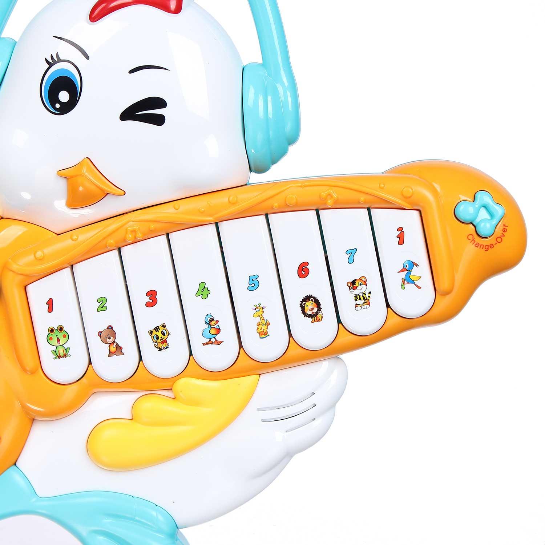Đồ chơi đàn nhạc hình gà con CY.855-22A