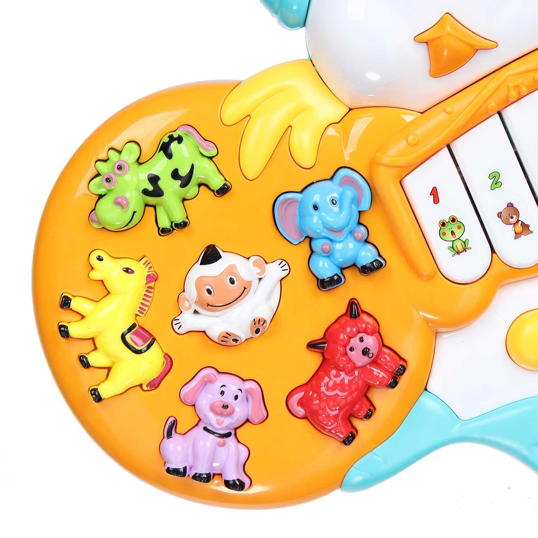 Đồ chơi đàn âm nhạc cho bé hình gà con CY.855-22A