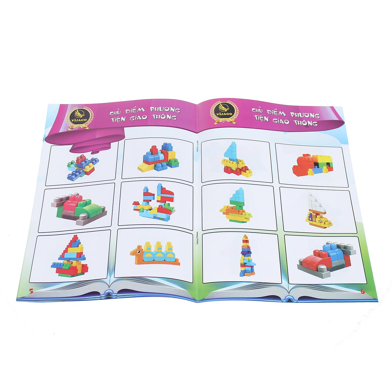 Đồ chơi cho trẻ em thùng xếp hình sáng tạo VJG028