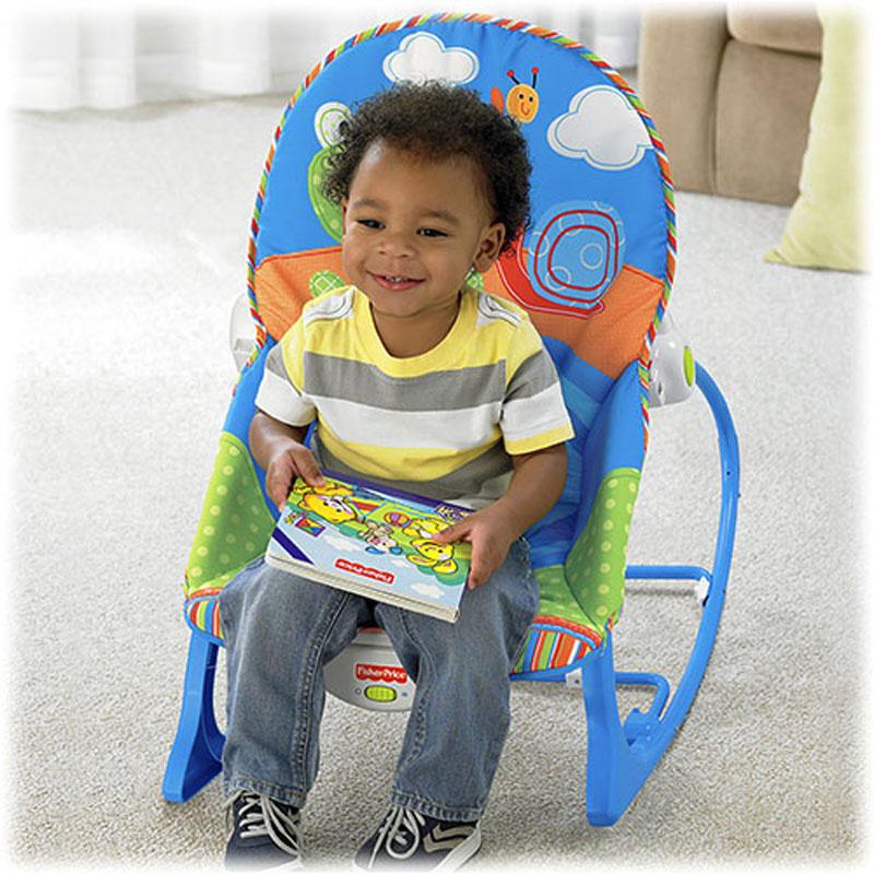 Ghế rung Fisher Price X7033 dành cho bé đến 3 tuổi