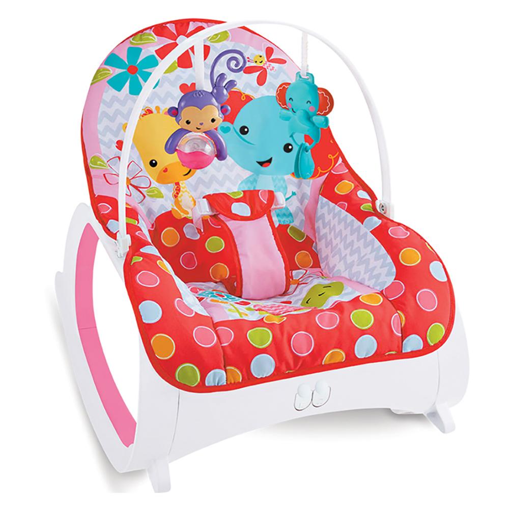 Ghế rung trẻ em Kiza Sweet Lullaby 889 màu đỏ