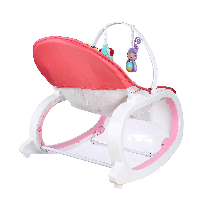 Chân ghế có thể điều chỉnh tạo độ vững chãi, chắc chắn cho ghế rung Kiza Sweet Lullaby 889