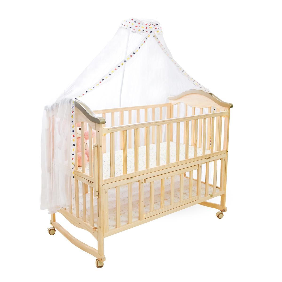 Set giường cũi cho bé KidsPlaza Natural Compact