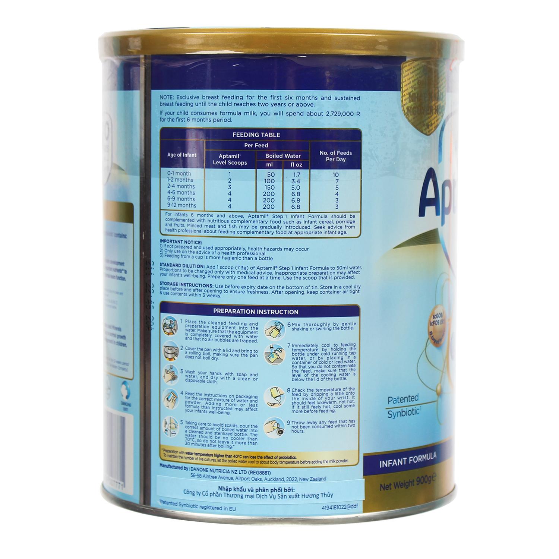 Công dụng của sữa Aptamil Newzealand 1