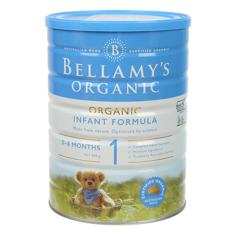 Sữa Bellamy's Organic S1 900g