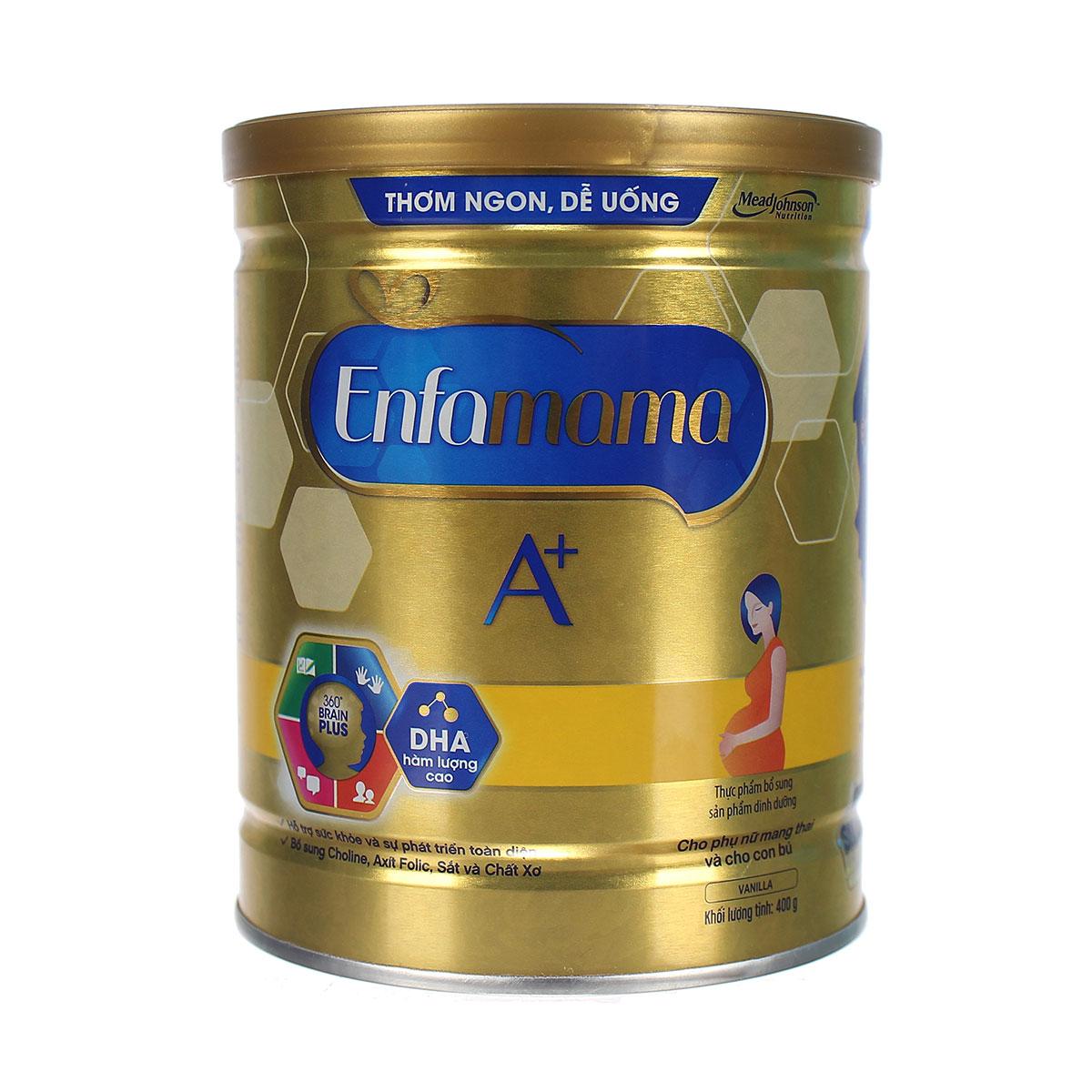 sữa bầu Enfamama A+ Vanilla