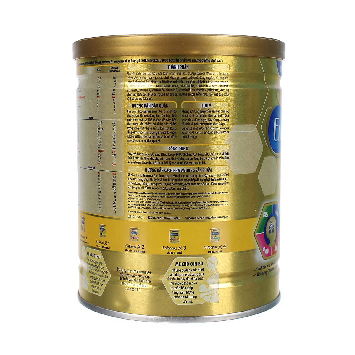 sữa bầu Enfamama A+ Chocolate 400g