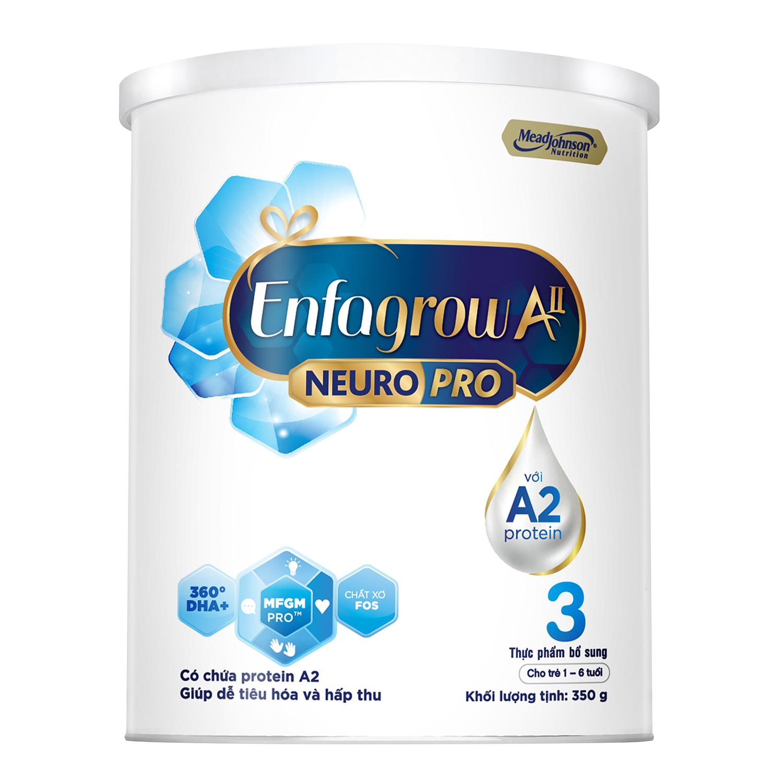 Sữa Enfagrow All Neuropro 3 hộp 350g