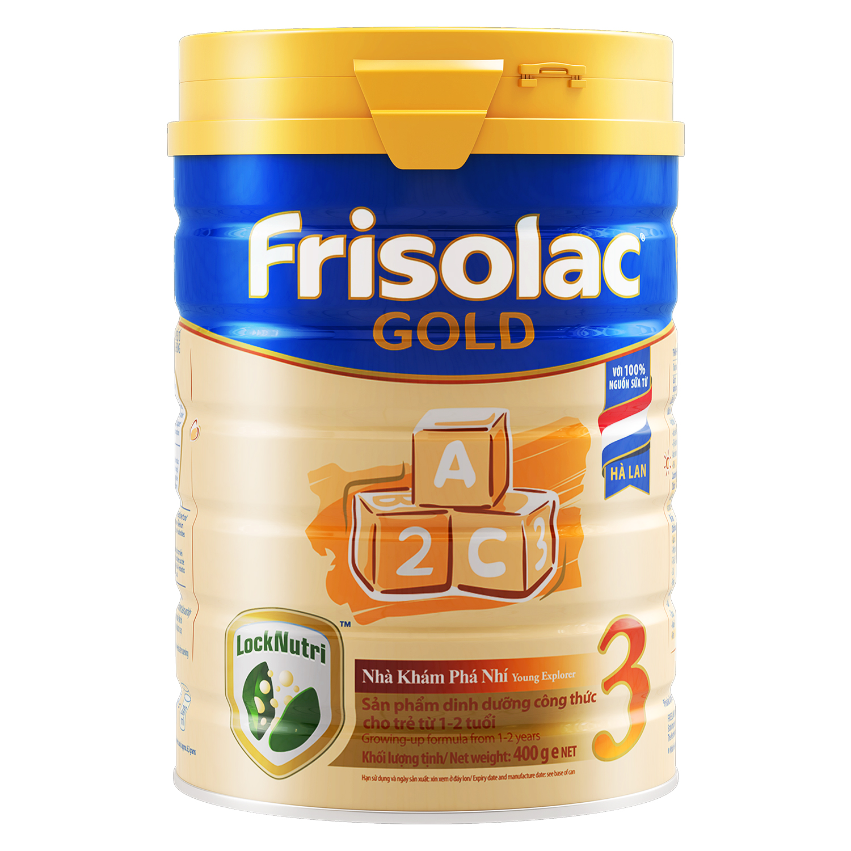 Sữa bột Frisolac Gold 3 400g