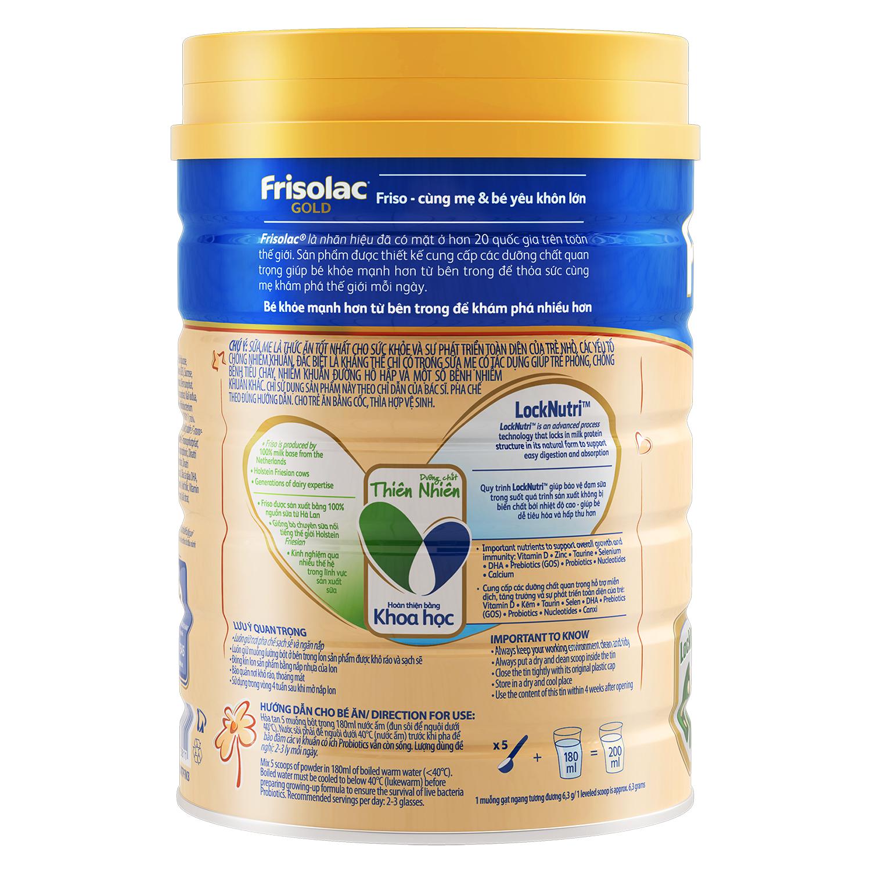 Hướng dẫn cách pha sữa Frisolac Gold 3
