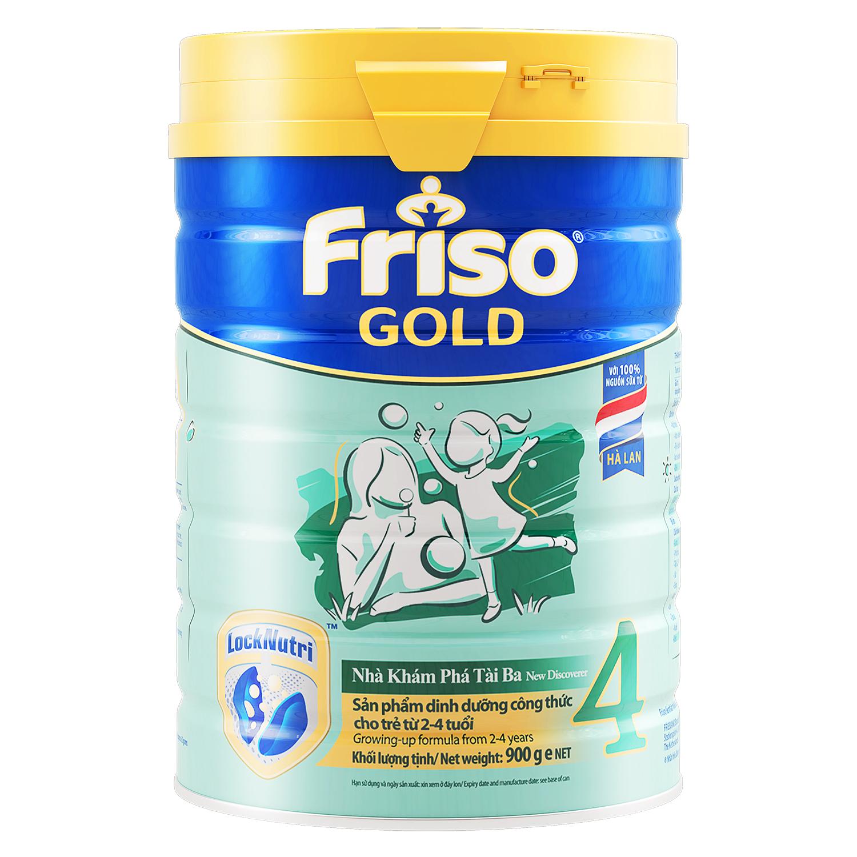 Sữa Friso Gold 4 900g (mẫu mới)