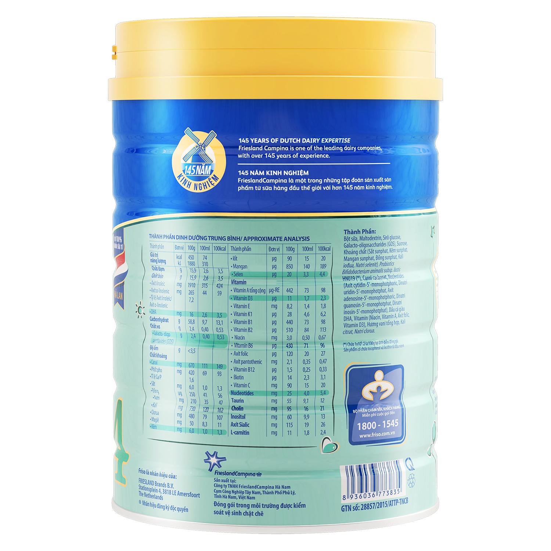 Thành phần sữa Friso® Gold 4 900g