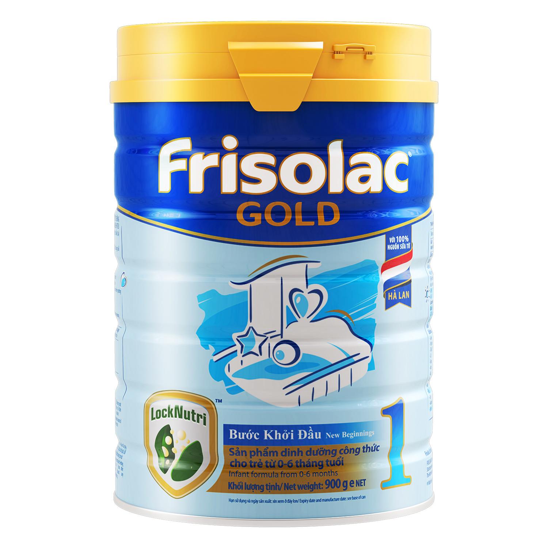 Sữa Frisolac Gold 1 900g dành cho trẻ sơ sinh