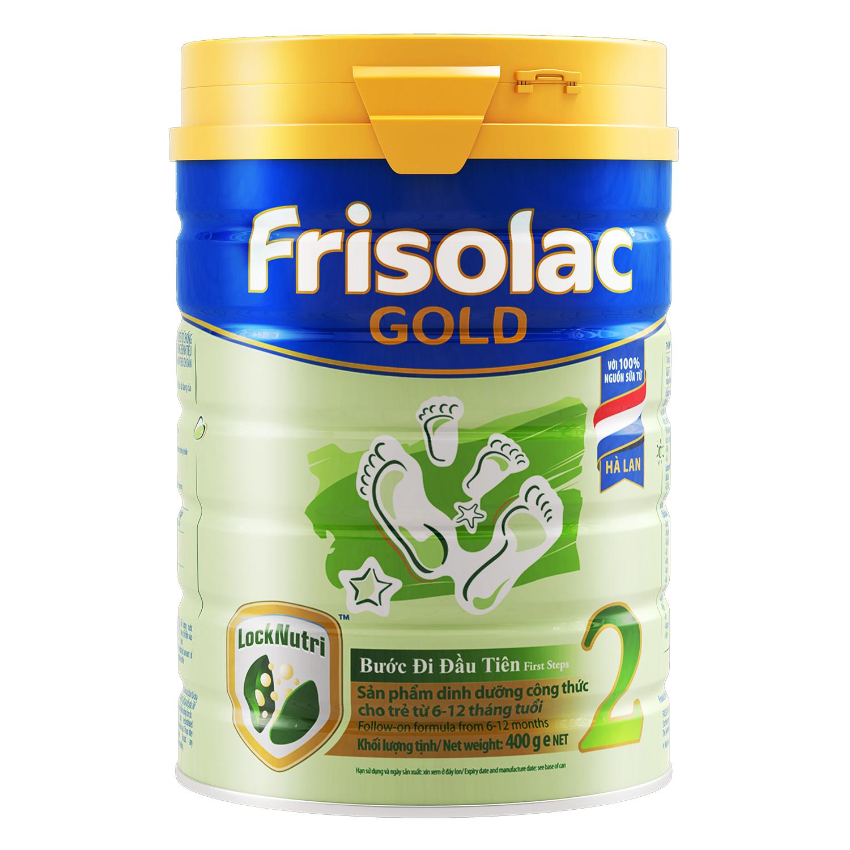 Sữa bột Frisolac Gold 2 400g