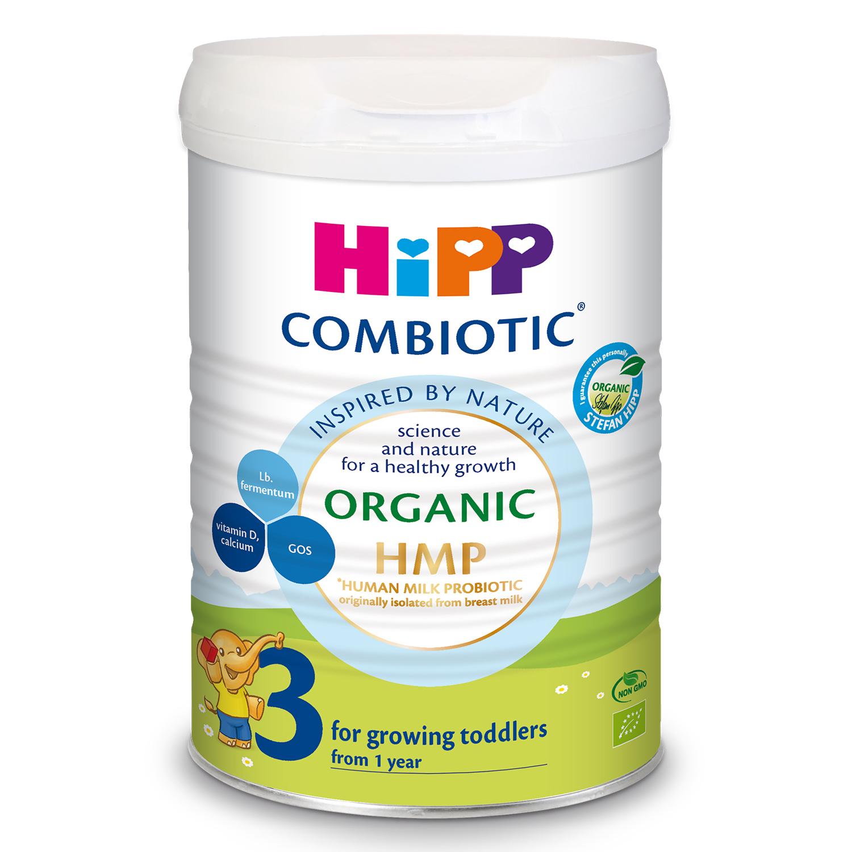 SữaHipp số 3 Organic Combiotic HMP 800g