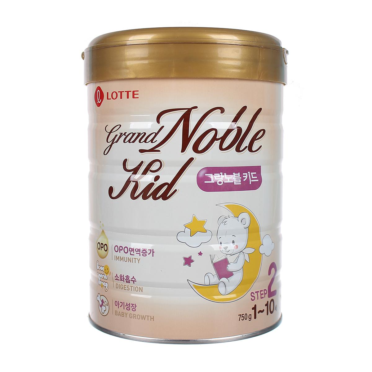 Sữa Grand Noble Kid số 2 (750g)