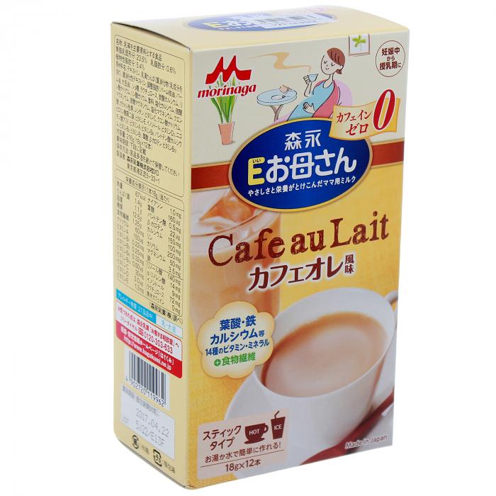 sữa bầu Morinaga vị và phê cho mẹ
