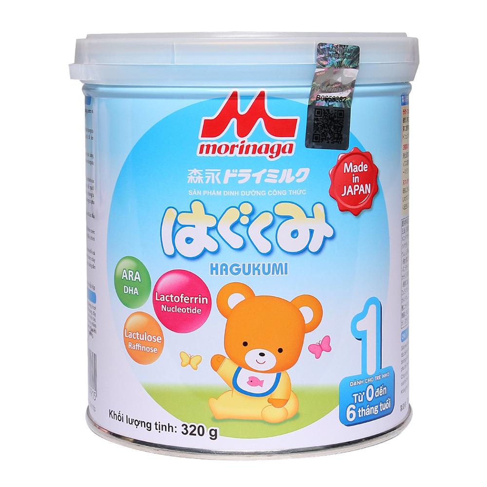 Sữa Morinaga Hagukumi số 1 nhập khẩu chính hãng