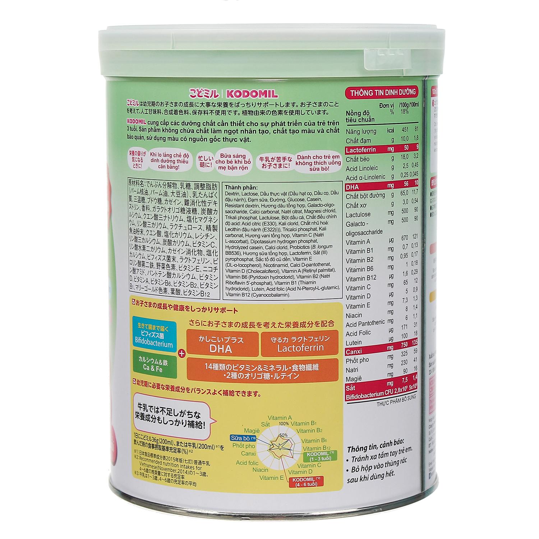 Sữa bột Morinaga số 3 hương dâu 850g nội địa