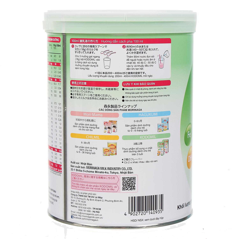 Hướng dẫn pha và bảo quản sữa Morinaga nội địa Nhật