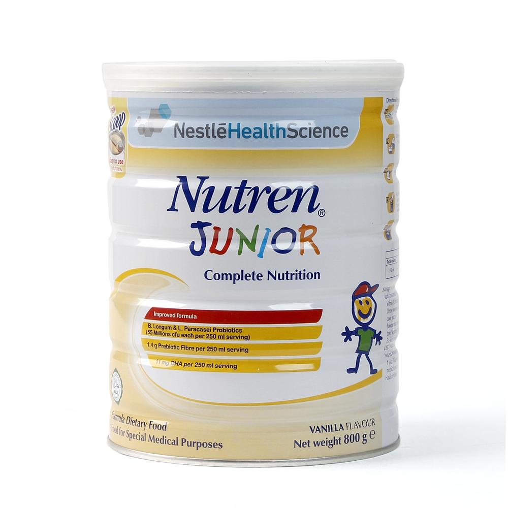 Sữa Nutren Junior 800g cho bé 1 -10 tuổi