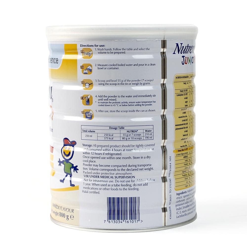Sữa Nutren Junior có tốt không ?