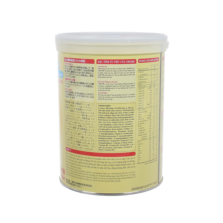 Đặc điểm thành phần sữa Morinaga số 2 850g